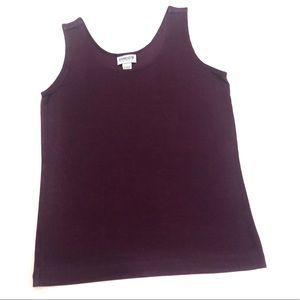 VINTANGE CHICO'S PURPLE SLEEVELESS TANK TOP
